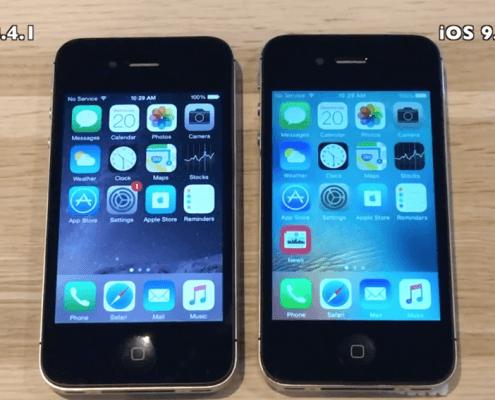 iPhone 5 en iPhone 4s worden sneller met iOS 9.2.1