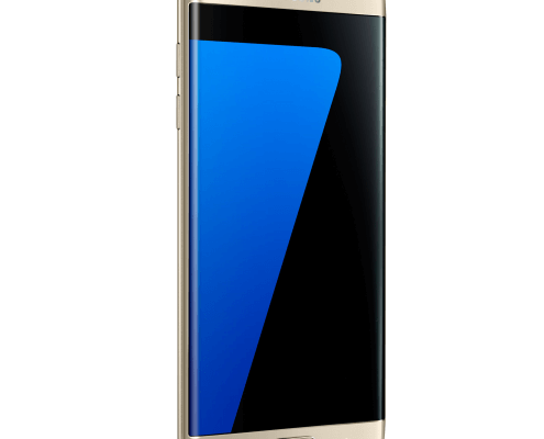 Foto Samsung Galaxy S7 edge schuin