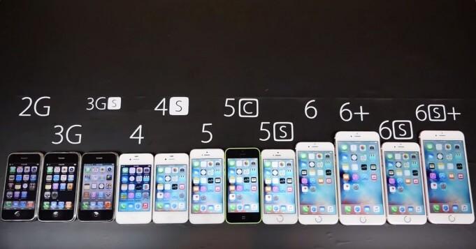 alle iPhone scherm reparaties