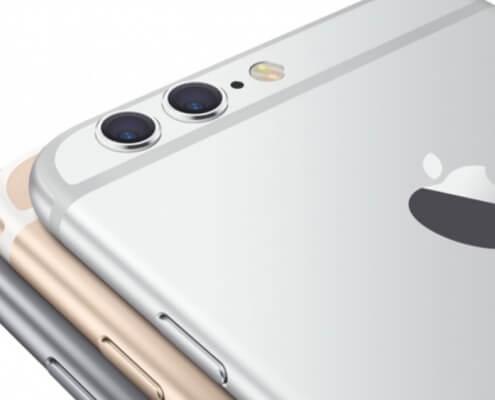 Alle iPhone toestellen komen met twee camera's