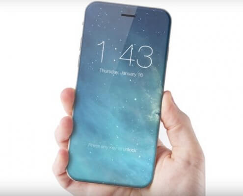 iPhone 8 of iPhone X concept via conceptsiPhone