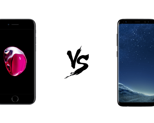 verschillen iPhone 7 vs Samsung Galaxy S8