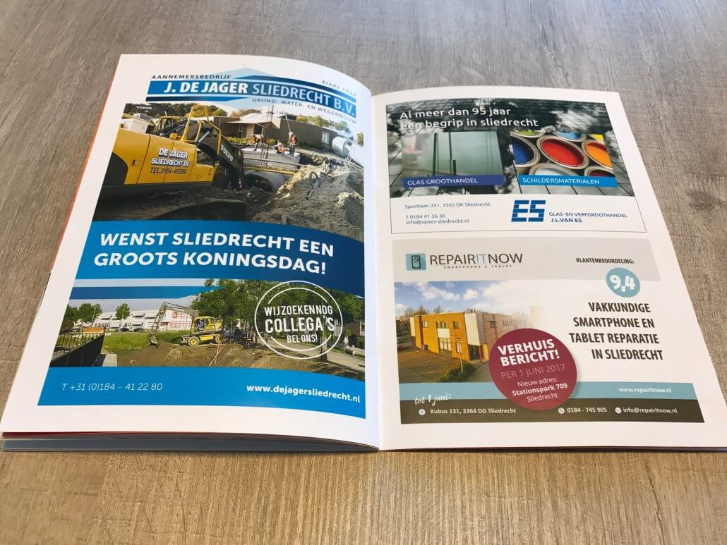 Repair IT Now draagt een steentje bij aan Koningsdag 2017 in Sliedrecht
