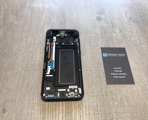 Samsung S8 plus scherm achterkant