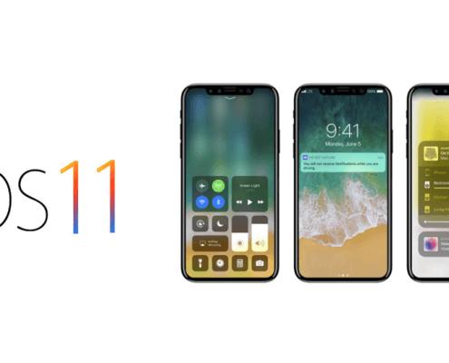 Problemen na iOS 11 update iPhone scherm touchscreen reageert niet meer