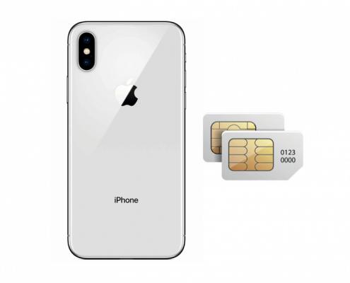 Gaan de iPhone X2 en iPhone X Plus een dualsim krijgen?
