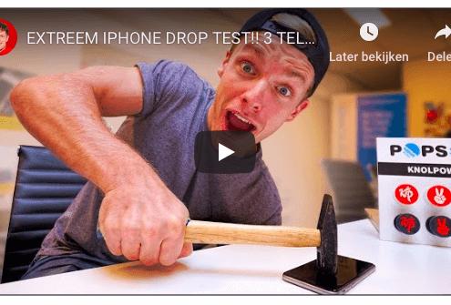 enzoknol knolpower drop test met clearplex
