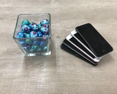 telefoon en tablet reparatie een eitje met de Paasdagen bij Repair IT Now